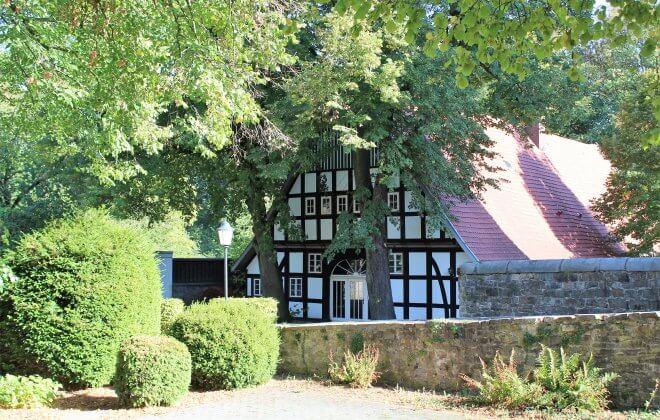 Heuerhaus Außenansicht